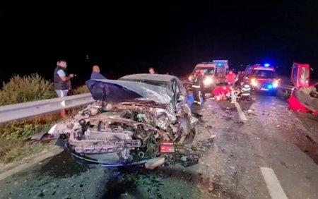 VIDEO. Accident mortal pe DNC3. O mama si un fiu au murit in urma coliziunii
