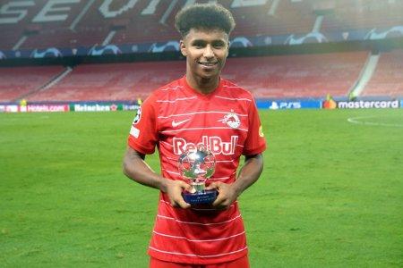 Karim Adeyemi, fotbalistul cu origini romanesti, protagonist in meciul din UCL cu 4 penalty-uri dictate intr-o repriza