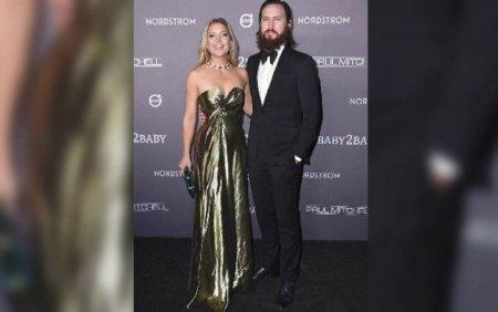 Kate Hudson s-a logodit cu iubitul ei, mai tanar cu 7 ani. Cei doi au si o fetita