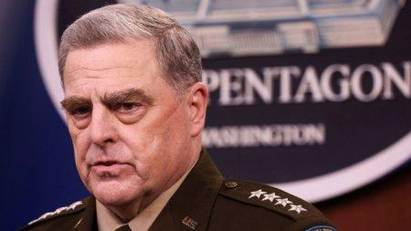 Dezvaluire. Generalul Mark Milley, sefului Statului Major al SUA, l-ar fi deposedat pe <span style='background:#EDF514'>DONALD TRUMP</span> de puterile nucleare