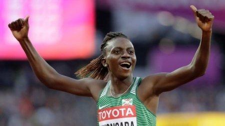 Alergatoarea Francine Niyonsaba a stabilit un nou record mondial in proba de 2.000 metri