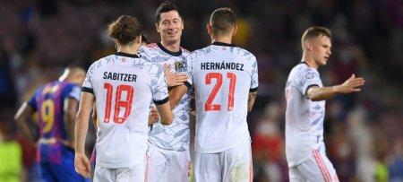 Barcelona, invinsa la scor de neprezentare in Liga Campionilor. Rezultatele inregistrate marti seara