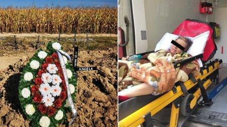 O fetita din Mures a fost despartita de mama grav bolnava inainte ca femeia sa se stinga din viata