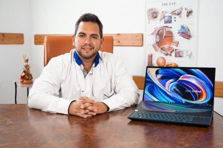 Laptopurile ASUS OLED ajuta ochii asediati de lumina albastra