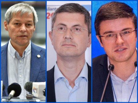 Au inceput alegerile pentru presedintele USR PLUS. Cum arata echipele lui Dacian Ciolos, Dan Barna si Irinel Darau