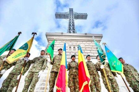 Ministrul Apararii, Nicolae Ciuca: Putem fi astazi, din nou, mandri de Monumentul Eroilor de pe <span style='background:#EDF514'>CARAIMAN</span>