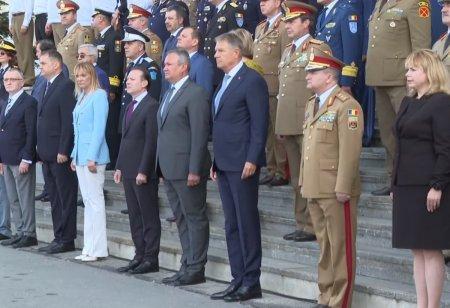 Iohannis, la 190 de ani de existenta a Spitalului Militar din Bucuresti: Va solicit sa actionati prompt in acest al patrulea val