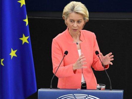 Stare Uniunii Europene. Ursula von der Leyer a tinut <span style='background:#EDF514'>DISCURS</span>ul anul privind viitorul UE si a cerut: O Europa mai activa, mai verde si mai putin dependenta