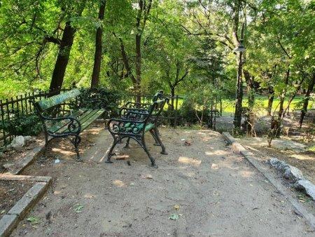 Cum arata Parcul Cismigiu dupa curatenia anuntata de Nicusor Dan acum trei saptamani