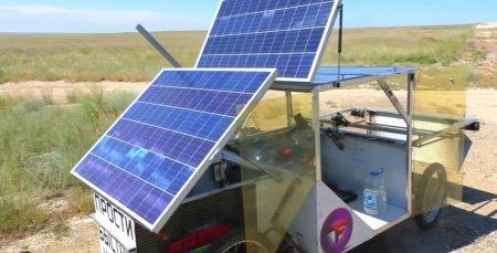 Un inginer autodidact de 23 de ani a construit de la zero o masina electrica