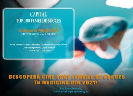Femeile din medicina ce s-au afirmat ca lideri in specializarile proprii.