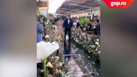 Simona Halep s-a casatorit azi cu Toni Iuruc! Primele <span style='background:#EDF514'>IMAGIN</span>i cu cei doi miri + Momentul in care Simona spune Da