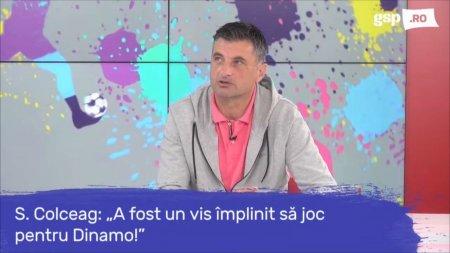 Filosofia antrenorului Sorin <span style='background:#EDF514'>COLCEAG</span> + legaturile lui cu ros-albii: Am trait o experienta fantastica la Dinamo