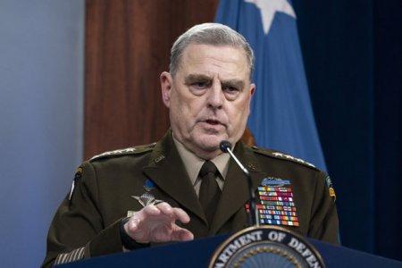 Pentagonul confirma dezvaluirile din presa americana: Generalul Mark Milley a comunicat cu oficiali chinezi in cadrul procedurilor de rutina