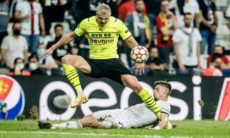 Haaland a marcat din nou in Champions League