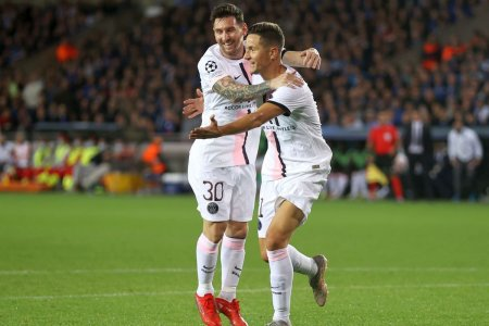 Messi, ai mila! » Cum a fost asteptat argentinianul in Belgia, la primul meci pentru PSG in Champions League