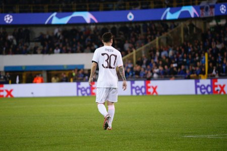 Bruges produce surpriza cu PSG. Messi, Neymar si <span style='background:#EDF514'>MBAPPE</span> au fost titulari