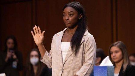 Simone Biles a depus marturie impotriva FBI-ului: S-a intors doar cand l-am denuntat pe Nassar