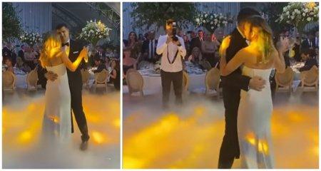 Simona Halep si Toni Iuruc, dansul mirilor, pe melodia lui Dan Bittman Dragostea mea