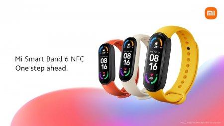 <span style='background:#EDF514'>XIAOMI</span> Mi Smart Band 6 cu NFC se lanseaza si in Europa, cu functie de plati contactless