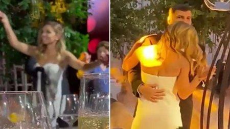 Simona Halep, dans pe muzica machedoneasca. <span style='background:#EDF514'>IMAGINI</span> noi de la nunta anului