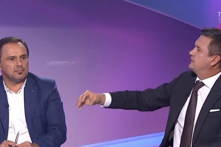 Cristi Balaj si Panduru, dialog in direct: Sper sa raman acelasi om echidistant! vs. Eu cred ca o sa fii putin schimbat