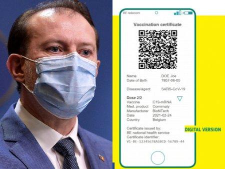 Romania adopta certificatul verde (DOCUMENT)