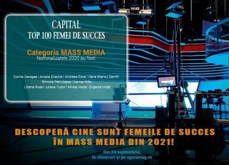 Care sunt superstarurile feminine din mass-media romaneasca? Capital lanseaza Top 100 Femei de Succes, editia 2021