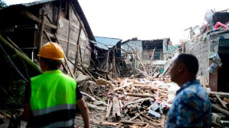 <span style='background:#EDF514'>CUTRE</span>mur in China cu magnitudinea 6. Bilant: 3 morti si 60 raniti