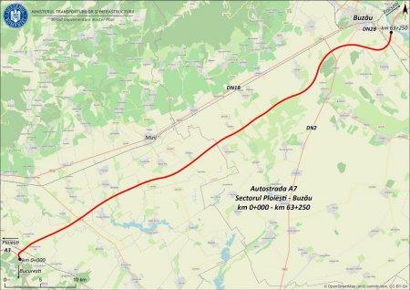 Autostrada A7, sectorul Ploiesti - Buzau: au fost depuse 39 de oferte pentru <span style='background:#EDF514'>LICITATIA</span> de construire