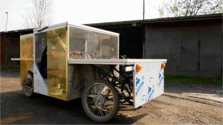 Un rus si-a construit propria masina electrica, de la zero