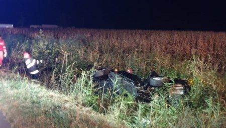 Accident in Buzau, surprins intr-un live pe Facebook din masina care a provocat tragedia. Șoferul si-a pierdut viata