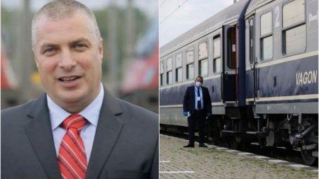 Ovidiu Vizante si-a dat demisia de la sefia CFR Calatori