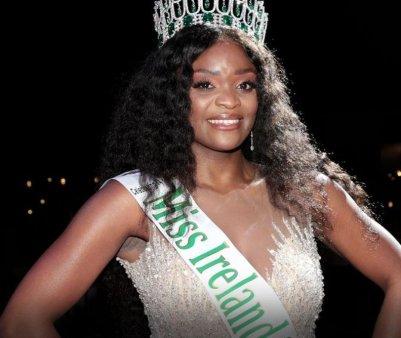 Prima castigatoare de culoare la Miss Irlanda! Mesajul transmis de premianta