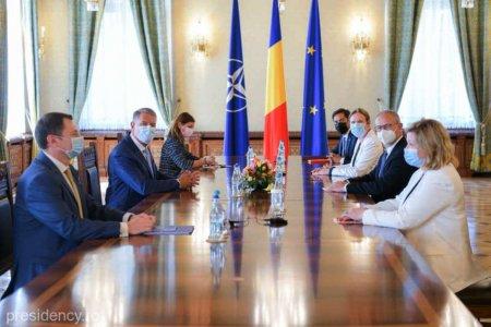 Klaus Iohannis: Regiunea Marii Negre reprezinta un perimetru strategic pentru securitatea <span style='background:#EDF514'>ENERGETIC</span>a nationala