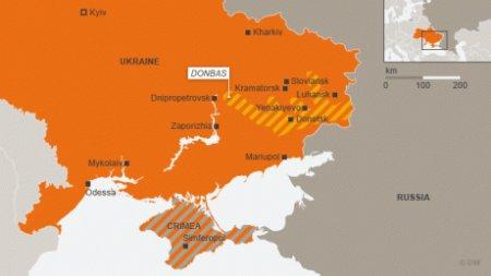 Se aprind iar spiritele intre Rusia si Ucraina: Moscova mizeaza puternic pe votul locuitorilor din <span style='background:#EDF514'>DONBAS</span>