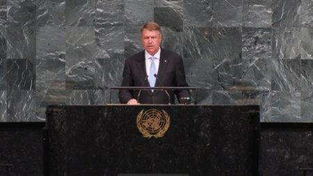 Klaus Iohannis p<span style='background:#EDF514'>LEAC</span>a din tara chiar inainte de Congresul PNL - Intalnire cu Joe Biden la ONU