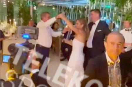 Simona Halep si Gica Hagi, spectacol pe ringul de dans » Melodia pe care cei doi s-au dezlantuit