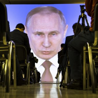 Mesaj din carantina al presedintelui Vladimir Putin