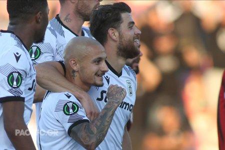 Gol marcat de Mitrita pentru PAOK in Conference League