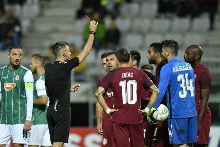 Mario Camora, gest incredibil in Jablonec - <span style='background:#EDF514'>CFR CLUJ</span> » Hent intentionat la cativa centimetri de poarta lui Balgradean