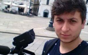 Jurnalistul Mihai Dragolea, batut crunt in timp ce filma un material despre taierile ilegale de padure