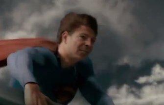 Florin Citu, despre filmuletul cu Superman: Mi se pare ceva funny.  Asta e, am simtul umorului
