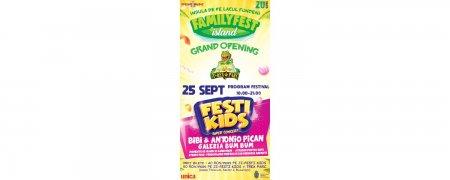 FestiKids – <span style='background:#EDF514'>FAMILY</span>Fest Island, sambata 25 septembrie 2021