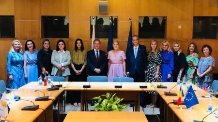 Succes rasunator al <span style='background:#EDF514'>CONFEDERATIE</span>i Nationale pentru Antreprenoriat Feminin, la prima misiune economica in strainatate