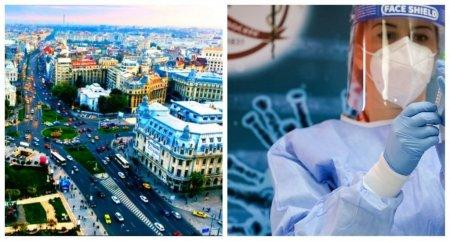 Restrictii in Bucuresti, dupa ce incidenta imbolnavirilor de COVID-19 a trecut de 2