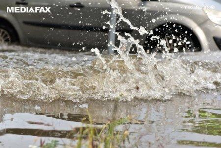 Informare METEO: urmeaza o perioada cu ploi si vant in mai multe regiuni ale tarii