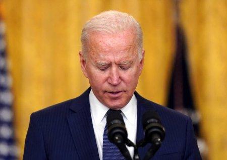 Joe Biden a ajuns la cel mai scazut nivel de incredere de la preluarea mandatului