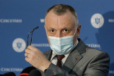 Sorin Cimpeanu: Cazurile de Covid raportate acum nu sunt din cauza inceperii scolii