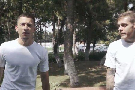 Morutan si Cicaldau au provocat un moment viral la Galata: limba turca i-a dat batai de cap lui Morutan